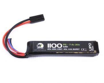 1100mah-7.4v-Stick-Lipo-Battery