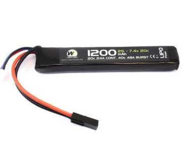1200mah-7.4v-Stick-Lipo-Battery