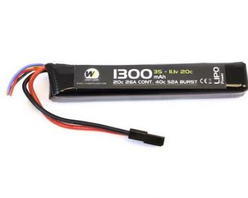 1300mah-11.1v-Stick-Lipo-Battery
