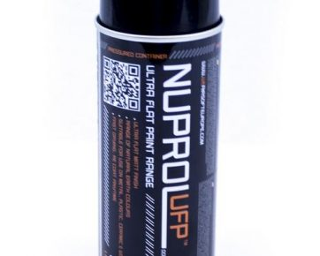Nuprol Spray Camouflage Paint Black