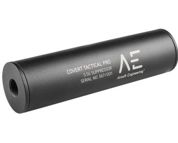 Covert Tactical Standard 40x150mm Silencer (AE Markings)