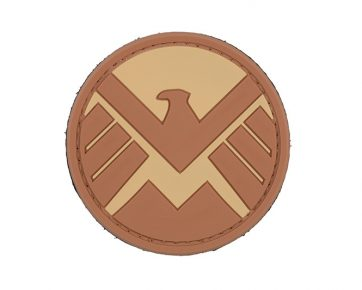 Agents of Shield Tan Eagle Patch