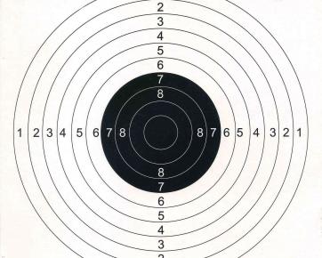 Jack Pyke paper target