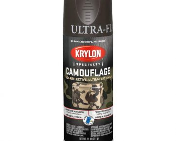 Krylon Spray Camouflage Paint Brown