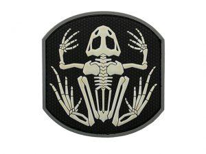 PVC Navy Seal Frog Skeleton Patch
