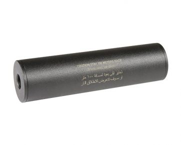Stay 100 meters back-Covert Tactical PRO 40x150mm silencer