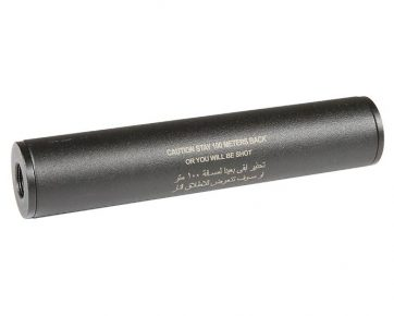 Stay 100 meters back- Covert Tactical Standard 30x150mm silencer