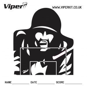 Viper back target