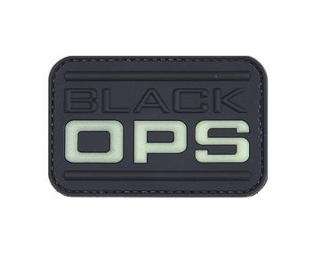 Black Ops PVC Morale Badge