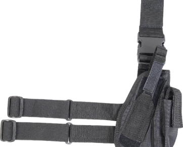 drop leg holster black