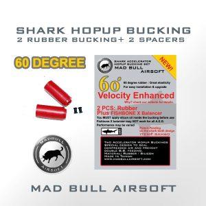 60 Degree Hop up rubber Shark M140