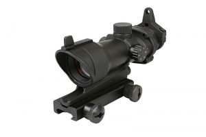 ACOG type red dot - black