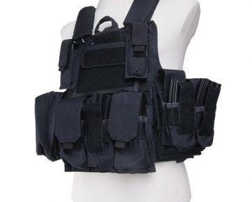 CIRAS Tactical Vest (Black)