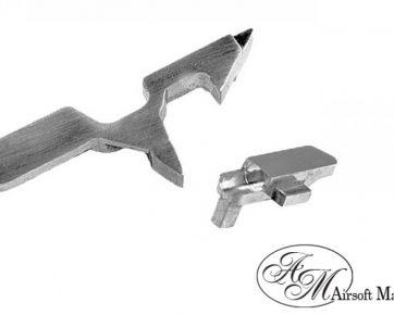Airsoft Masterpiece Steel Dis-connector & Valve Knocker Set for Marui Hi-CAPA