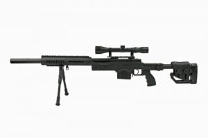 MB4410D sniper rifle replica - with scope and bipod