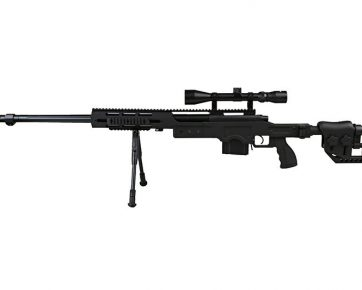 MB4411D UPV sniper rifle replica with scope and bipod