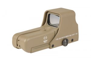 Theta Optics 552 Holographic Sight - Tan