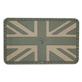 Union Jack Patch Green