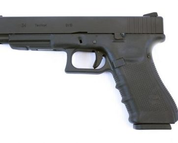 WE EU34 Gen 4 Semi Auto Black Pistol