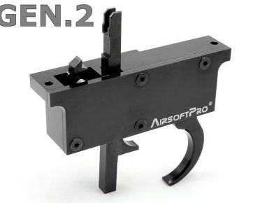 Airsoft Pro CNC Trigger Set for L96 Rifle MB-01, 04, 05, 08, 14