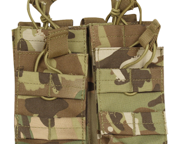 single double airsoft pouch