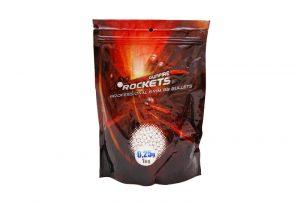 Rocket Professional 0.25g BBs- 1kg Bag