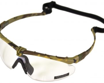 Nuprol Battle Pro Clear Camo Glasses
