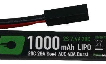 1000 mah Super Slim Stick Lipo