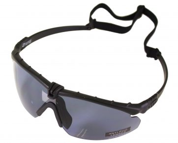 NP Battle Pro's - Black Frame Smoked Lens with Insert