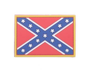 Confederate Rebel - 3D Patch - Full Colour